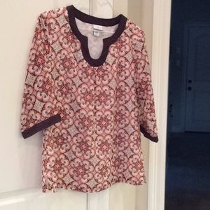 Jaclyn Smith casual blouse